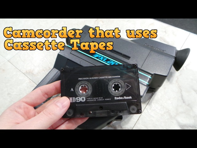 Camcorder that uses Cassette Tapes The PXL 2000