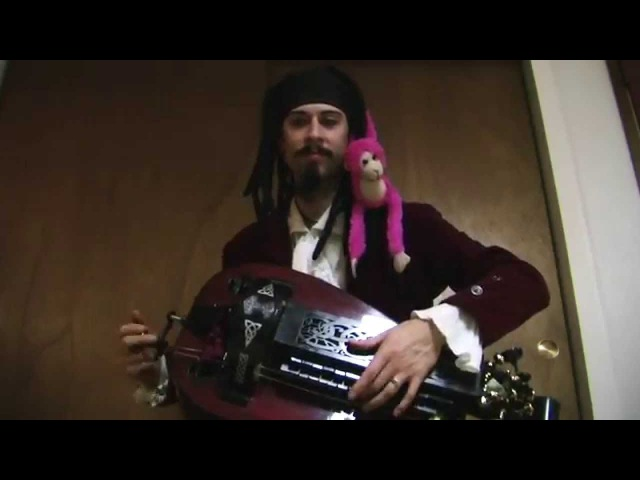 Pirates of the Carribean Hurdy Gurdy Cover