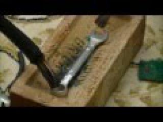 Derretendo ferro com 5000 amperes