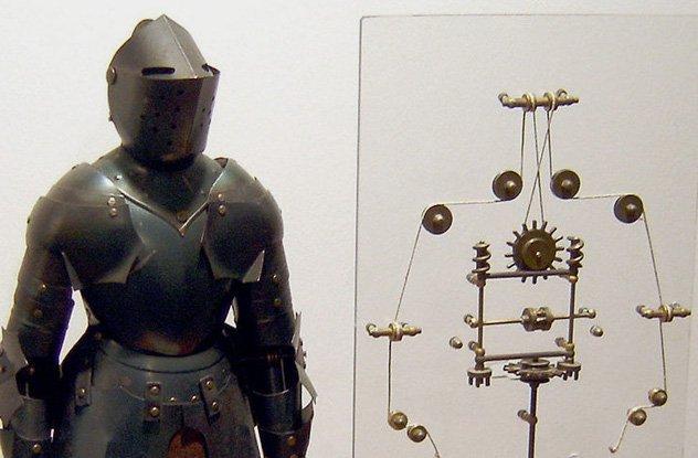 рыцарь леонардо да винчи
