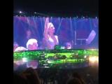 Леди Гага на концерте Элтона Джона в Лас-Вегасе (31 декабря)