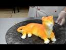 (ТОРТ-РЕЦЕПТ-VK) 3D торт Тигр из масляного крема. мастер класс, декорирование тортов, оформление торта, украшение .