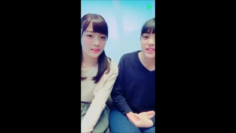 20161230 LINELIVE 原宿駅前パーティーズ 入江ひなた、田谷菜々子