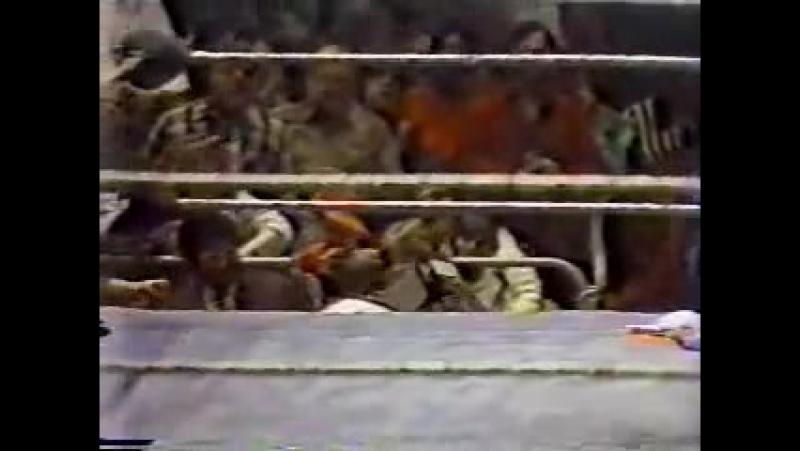 [My1] Матч года WON 1981 - Сержант Слотер против Пэта Паттерсона