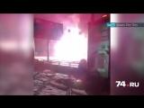 Вспыхнувший фонарный столб в Челябинске попал на видео - Новости онлайн