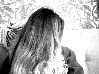 Фото девушек на аву с черными волосами без лица