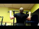D.M.G. - Тренировка спины с Максом Смирновым в фитнес клубе POWER GYM