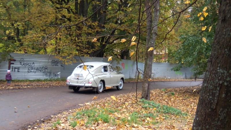 ГАЗ-М20В Победа 1956 года 2 октября 2016 в Белогорке! » Freewka.com - Смотреть онлайн в хорощем качестве