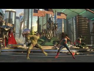 Объявлен новый герой Injustice 2 — Болотная тварь