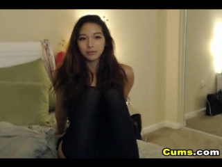 Chatting with This Lovely Cute Asian Teen on Cam