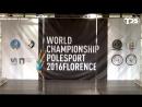 IPSAF WORLD CHAMPIONSHIP POLE SPORT 2016 FLORENCE  (Finals) - Olesya Ermalovich (Russia)