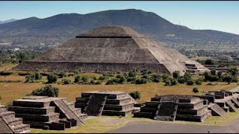 Тайна великих пирамид смерти. Древний город Теотиуакан в Мексике. National geographic 14.09.2016