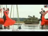 Russian tanks dance. (6 sec)