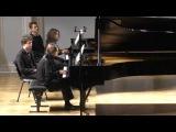 М. Равель   Испанская рапсодия для двух фортепиано Исполняют Екатерина Апекиш ...