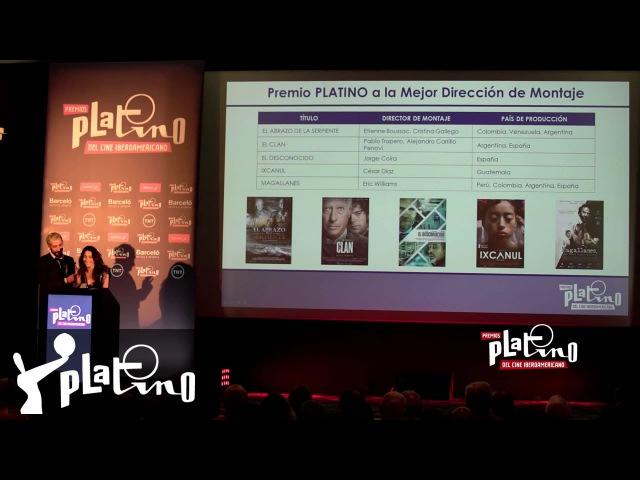 Premios Platino 2016 – Presentación nominados en Buenos Aires