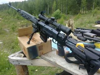 Снайперские винтовки СВД, СВД С, СВ 98, МЦ 116, КСВК