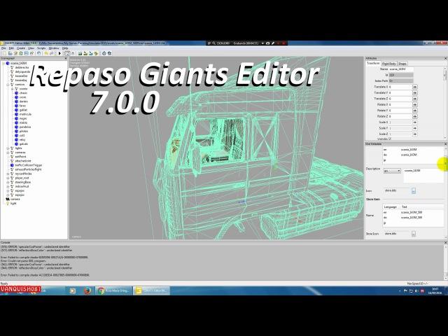 Repaso Giants Editor 7.0.0 FS17