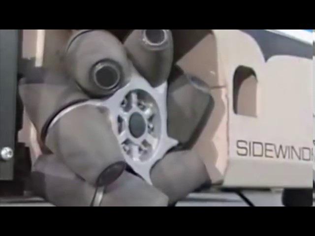 Всенаправленные колеса Airtrax, позволяющие ездить в любую сторону