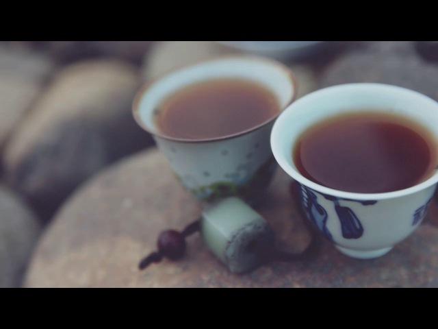 Wu Yi shan river puer tea - Пьем пуэр на реке в горах УИ