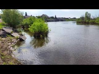 Мормышинг на реке