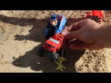Гонки Щенячий патруль против Вспыш и чудо машинки новая серия мультик для детей игрушка вспыш
