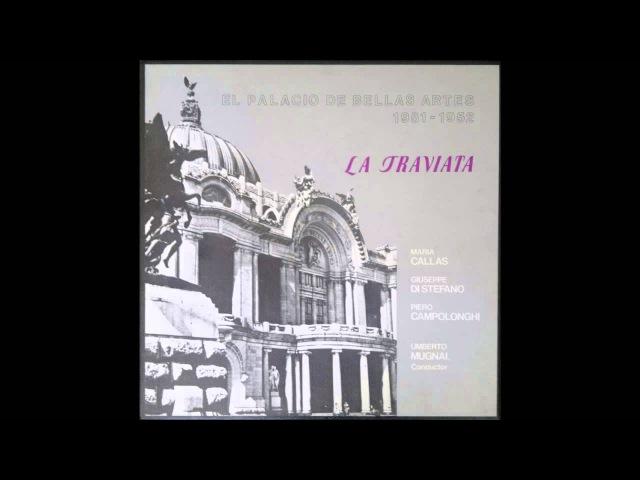 Callas, Di Stefano, Mugnai - La Traviata, Mexico 1952 BJR Vinyl Complete Opera Best Sound