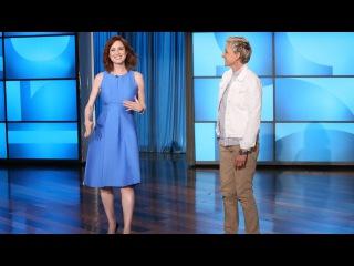 Ellie Kemper Joins Ellen for Some Moving Moments