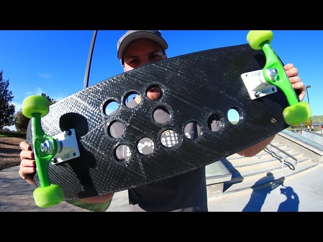 СКЕЙТБОРД НА 3D ПРИНТЕРЕ - СЛОМАЕТСЯ ИЛИ НЕТ?! (WILL THE 3D PRINTED SKATEBOARD BREAK)