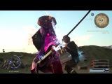 FINAL FANTASY XV - Ayakashi Yojimbo Level 110 Boss Fight Gameplay l EPIC FIGHT PS4 Pro