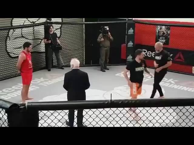 Liam Cunningham aka Davos Seaworth Training With Conor McGregor's Coach at SBG MMA