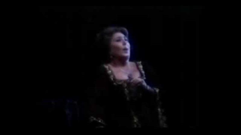 ANNA TOMOWA-SINTOW Il Trovatore - D'amor sull'ali rosee