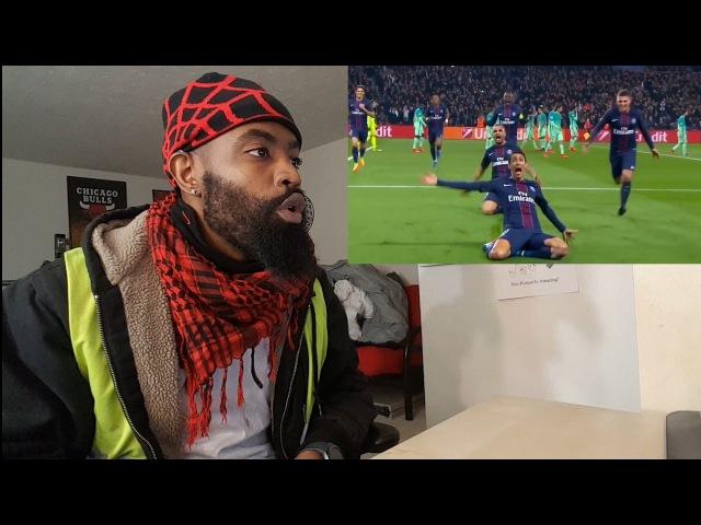 PSG vs FC Barcelona 4-0 Reaction