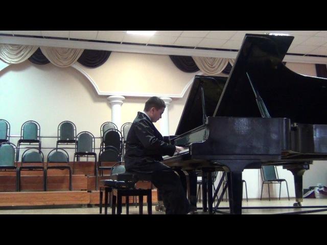 Никита Пляшников на конкурсе пианистов в СКМК г.Мин-Воды 04.03.2017