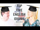 Top 5 English Idioms Collaboration with Learn British English Free