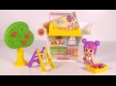 Pinypon Little Doll House with Apple Tree Playset - Famosa Dollhouses - Toy Unboxing and Play Review