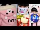 4 Cute DIYs DIY Rilakkuma Hoodies Egg Emoji Mask Sailormoon Cat Pillow