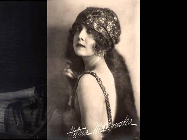 Russian romance Aleksander Wertyński - Pani Irena (Madame Irene), 1929