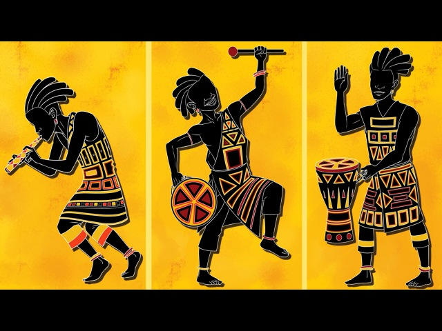 TRADITIONAL AFRICAN Music FOLK Music INSTRUMENTAL for Relaxing Studying & Ambience