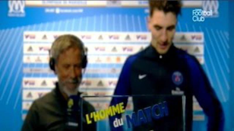 OM vs PSG 1-5 Ligue 1 Thomas Meunier Homme Du Match