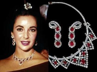 Элизабет Тейлор и её украшения, драгоценности Величайший в мире аукцион! Elizabeth Tay...