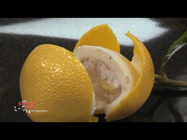 Recette : Le citron du chef Cédric Grolet - Les carnets de Julie - La route des agrumes