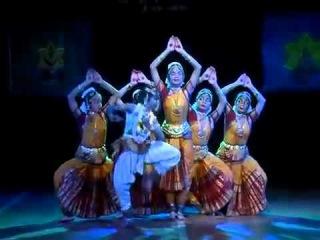 Lord krishna and kaliya naag (.kaliya mardan ), classical dance