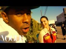 """Kendall Jenner; Tyler, The Creator; and Travis """"Taco"""" Bennett Take Over the Vogue Set"""
