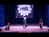 Kyouki, Roku и Haru (Grieva) - Kyo Prophet, Licoris и Zero (Москва) - J-ROCK Конвент 2016