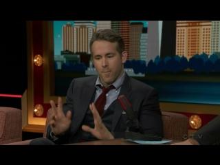 Райан Рейнольдс на шоу «Conan» Конана О'Брайена (02.11.2016)