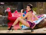 Twistys Darcie Dolce (Sweet Sucker) 2016, Solo, Natural Boobs, Large Boobs, Masturbation, Outdoors, Pool, FHD 1080p