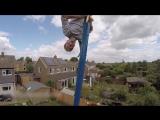 Гигантские 360° качели на заднем дворе