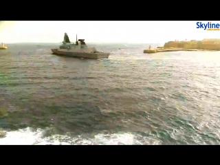 Корабли НАТО зачастили в последние дни в порт Валетта на Мальте для ремонта и бункеровки. Готовятся к боям за Сирию? 14.10.2016.