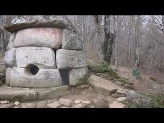 Дольмены и водопады на р.Жанэ