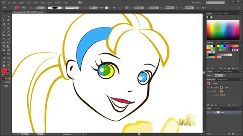 Adobe illustrator CC, Cómo medir y copiar atributos con cuentagotas, Curso Básico Español CS6 cap 33